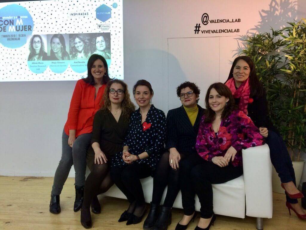 Ana Suria en jornada con M de Mujer Emprender y Empresa